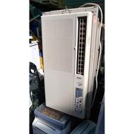 (二手 中古冷氣專賣網) 聲寶直立式窗型冷氣機 110V   售8200+安裝架子800  2013 歡迎現場試機