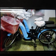 【Bb鐵馬】全新台純 鋰電 KUKUMA 電動車 電動輔助車 親子車電動腳踏車運費請詢問可另加購前後安全座椅