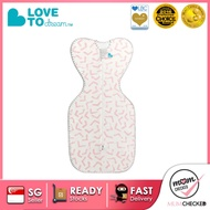 LOVE TO DREAM SWADDLE UP BAMBOO LITE-0.2 TOG | PINK | NEWBORN - M SIZE | SG LOCAL SELLER | MUMCHECKED