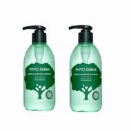 Phyto Derma 朵蔓-頭皮淨化洗髮精400ml(控油蓬鬆) 買一送一