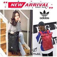 New Arrive Adidas 3d Mesh Roll Top Backpack / Issey Miyake Style Bag Fashion