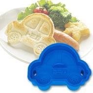 【領券折$30】小禮堂 TOMICA小汽車 日製 車子造型吐司壓模 餅乾模具 三明治壓模 (深藍)