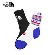 [ THE NORTH FACE ] 中性 Coolmax中長筒襪2入組 黑白 8折特價 / 公司貨 NF0A39W6KD2