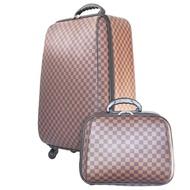 ร้านแนะนำWheal กระเป๋าเดินทางเซ็ทคู่ 4 ล้อหมุนรอบ 360° ขนาด 22/14 นิ้ว Louise Brown Classic (New Collection) กระเป๋าลาก