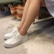 [現貨優惠]CAMPER 女款牛皮輕量厚底小白鞋