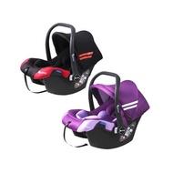 湯尼熊 Tony Bear嬰兒手提籃汽座(紅黑/紫)