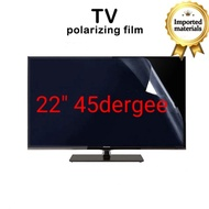 22inch Polarized TV LED/LCD 45 degree Repair Tv Replacement Film