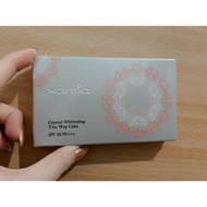 即期特賣 全新現貨【xantia 桑緹亞】晶鑽嫩白防曬兩用粉餅 SPF30PA+++