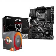 【超值套餐】AMD Ryzen7 3700X + MSI X570