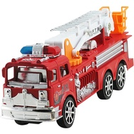 Toy Ladder-Model Fire-Engine Simulation Fire-Truck Children's Car Back-Toy Pull Inertia