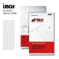 【iMos】SONY Xperia 1 II(3SAS 背面保護貼)