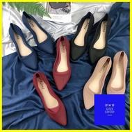 รองเท้าแตะ ร้านแนะนำรองเท้าคัชชู หัวแหลมมีส้น1นิ้ว tx023 รองเท้า
