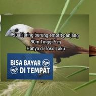 Jaring burung emprit Jaring penhalang Tanaman padi jaring burung pipit Jaring burung kecil Petani