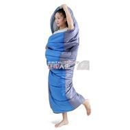 睡袋 沙漠駱駝睡袋成人戶外旅行冬季保暖室內雙人露營隔臟羽絨棉睡袋 數碼人生
