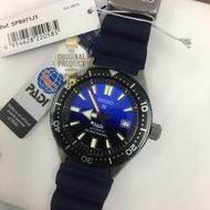 SEIKO PADI PROSPEX Automatic Diver' 200m สีน้ำเงิน สายยางเรซิ่น รุ่น SPB071J1