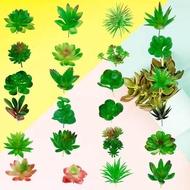 ดอกไม้ดอกไม้จำลองไม้อวบน้ำประดิษฐ์ปลอมดอกไม้ไม้อวบน้ำประดิษฐ์สวนขนาดเล็กจำลองปลอมบ้านดอกไม้ Faux พืชดอกไม้ Faux