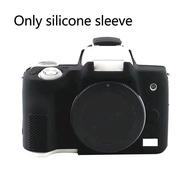 ป้องกันรอยขีดข่วนซิลิโคนกันกระแทกกล้องปกกันน้ำผิวนุ่มสำหรับ Canon EOS M6 M10 M50