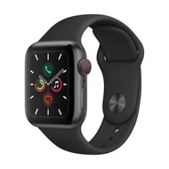 Apple Watch Series 5 GPSCellular 40mm, Space Grey Aluminum Case, Black Sport Band