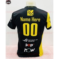 ₪✱✹BREN ESPORT MOBILE LEGENDS JERSEY (PERSONALIZE CUSTOMIZE NAME)
