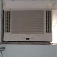 (二手)日立窗型1噸97年雙吹冷氣(保固)