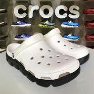 新款動力迪特白色crocs男女洞洞鞋