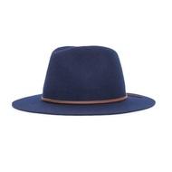 Brixton Wesley Fedora 紳士帽 (深藍)《Jimi Skate Shop》