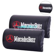 Benz 賓士 碳纖維 頭枕 GLA CLK 汽車頭枕 W205 W212 W221 W253 座椅頭枕 靠頭枕 護頸枕