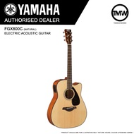 PRE-ORDER (Nov/Dec onwards) Yamaha FGX800C (Natural) Electric Acoustic Guitar  - Absolute Piano - The Music Works Store GA1