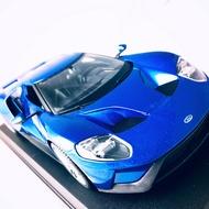 2017 Ford GT 經典在現 1:18金屬模型車