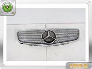 泰山美研社 20091408 BENZ 朋馳 W210 電鍍銀 二線 大星 水箱罩