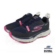 〈💗全館再打95折💗〉Skechers Go Run 深藍色 網布 防水 回彈 休閒慢跑鞋 女款 NO.I9730【新竹皇家】