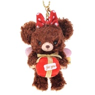 絕版大學熊✨天使摩卡 小吊飾