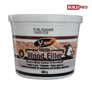 [V-TECH] Wood Filler Water Based Putty 500g Natural Color