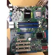 華碩775 Server 主機板 ASUS P5BV-C/4L/TS100-E5 + X3330 四核
