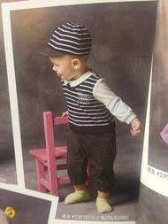 諾貝達 金安德森童裝 小男生兔裝.連身裝 套裝 禮盒