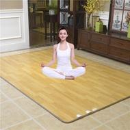 韓國石墨烯碳晶地暖墊地熱墊客廳地暖毯電熱瑜伽墊加熱地毯電熱板