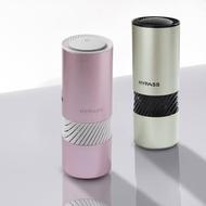 【HYPASS 海帕斯】全新三代智能AI-車用空氣瓶子/防疫抗菌/過濾PM2.5(清淨機/N95口罩等級濾網/贈濾網2入)