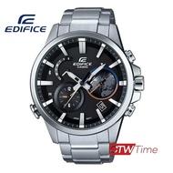 ส่งฟรี !! Casio Edifice นาฬิกาผู้ชาย สายสแตนเลส รุ่น  EQB-600D-1ADR  (Black)