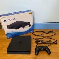 黑色PS4 Slim 500GB主機(CUH-2117A)二手