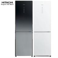 【預購】HITACHI 日立 RBX330 冰箱 2門 313L 全琉璃觸控面板 紅酒架設計 獨立蔬果保鮮 新1級能效