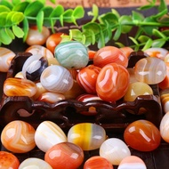 雨花石原石月牙瑪瑙石天然石頭魚缸彩石水族園藝造景