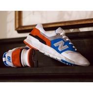New Balance 997H 情侶鞋 白 藍 紅 皮革 復古 休閒鞋 CM997HZJ D