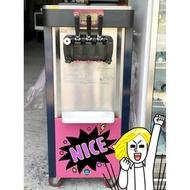 二手經濟型立式三管冰淇淋機/霜淇淋機(一年機種)