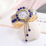 Swatch_agete_ Women Fesyen New Bracelet Bracelet Women 's Watches Korean Version Trend Quartz Watches Personality Wild Watches