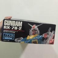 GUNDAM RX-78-2 鋼彈模型(絕版 彩色透明款)