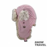 【SNOW TRAVEL】極地保暖遮耳帽(粉紅)