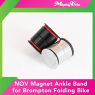 ★Brompton Accessories★ NOV Magnet Ankle Band for Brompton Folding Bike