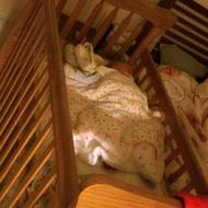 多功能嬰兒床 ( 二手,竹北自取)