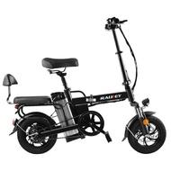 電動腳踏車 RALDEY折疊電動腳踏車代駕電瓶車成人鋰電代步車小型電動腳踏車