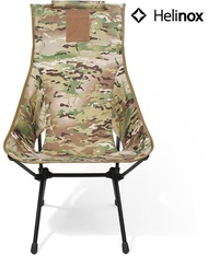 Helinox 輕量戰術高腳椅/高背戶外椅/折椅DAC/露營椅 Tactical Sunset Chair 多地迷彩 Multicam
